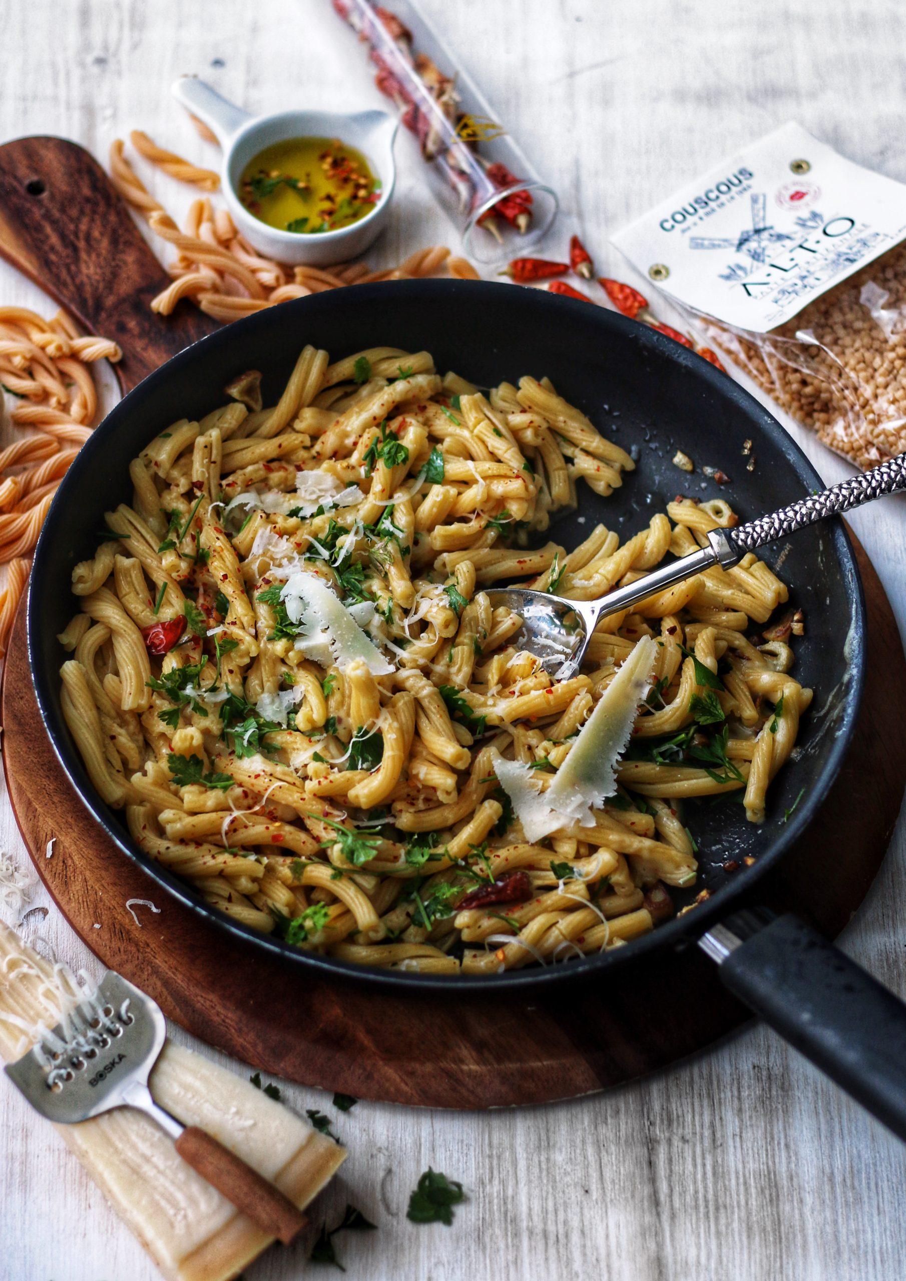 Cele mai simple si rapide paste: AOP <br/> Aglio – Olio – Peperoncino
