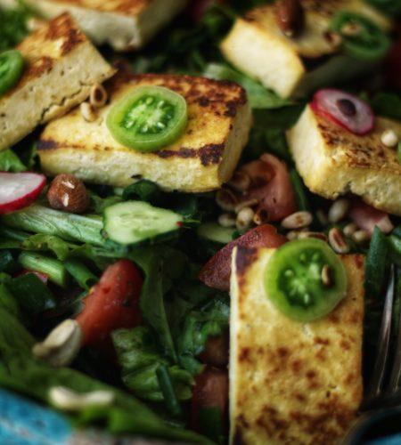 Cum faci cea mai buna salata cu tofu?