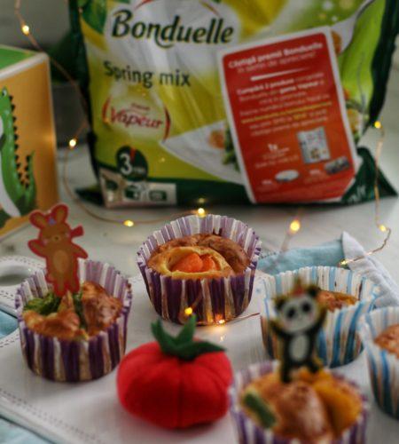 Briose Salvatoare cu legume Bonduelle Vapeur