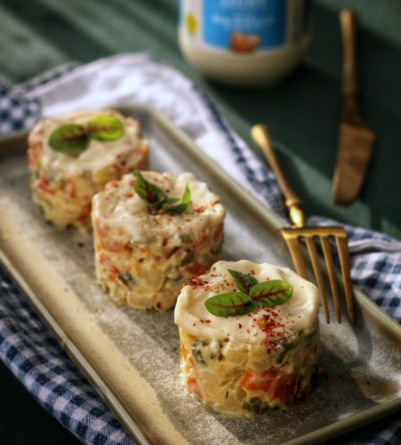 Salata Boeuf – vegetariana