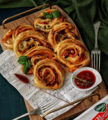 Rulouri Pizza Margherita